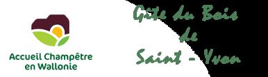 Gîte du Bois de Saint-Yvon